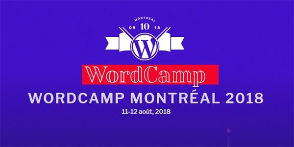 WordCamp Montréal 2018